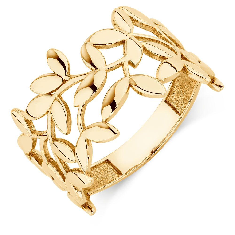 Adjustable Assorted Colors Gold Foil Rings Assorted Finishes
