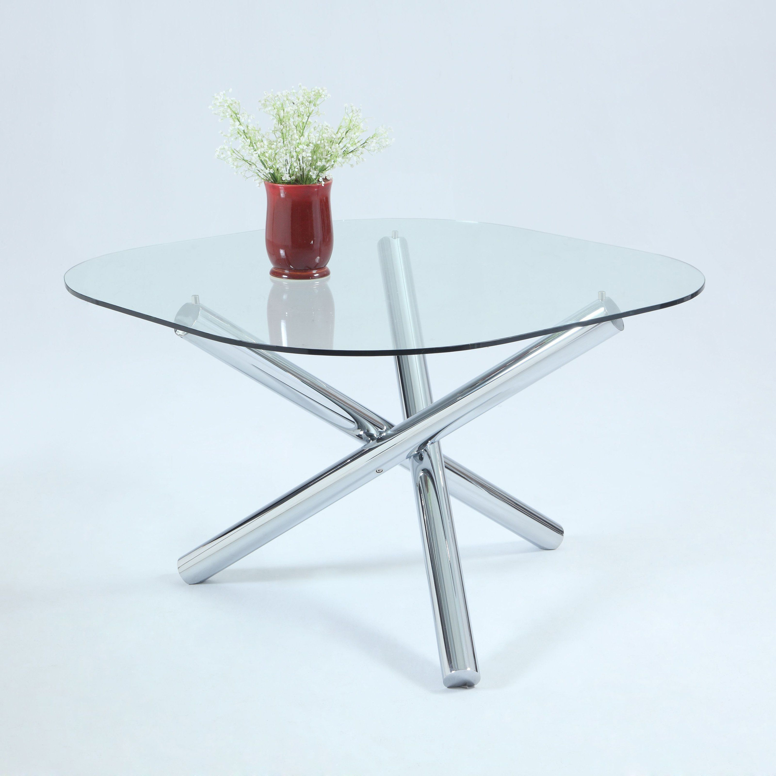 Chintaly Leatrice Round Glass Dining Table - CTY2012 | Products ...