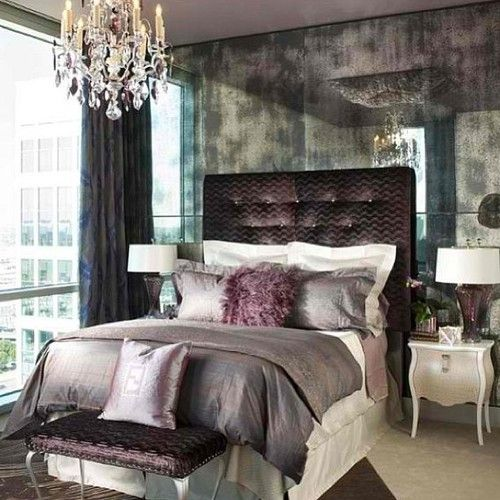 An ultimate glamour bedroom. Love my people at @FendiCasa see you ...