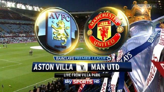 Live Aston Villa Vs Manchester United Aston Villa Premier League Manchester United