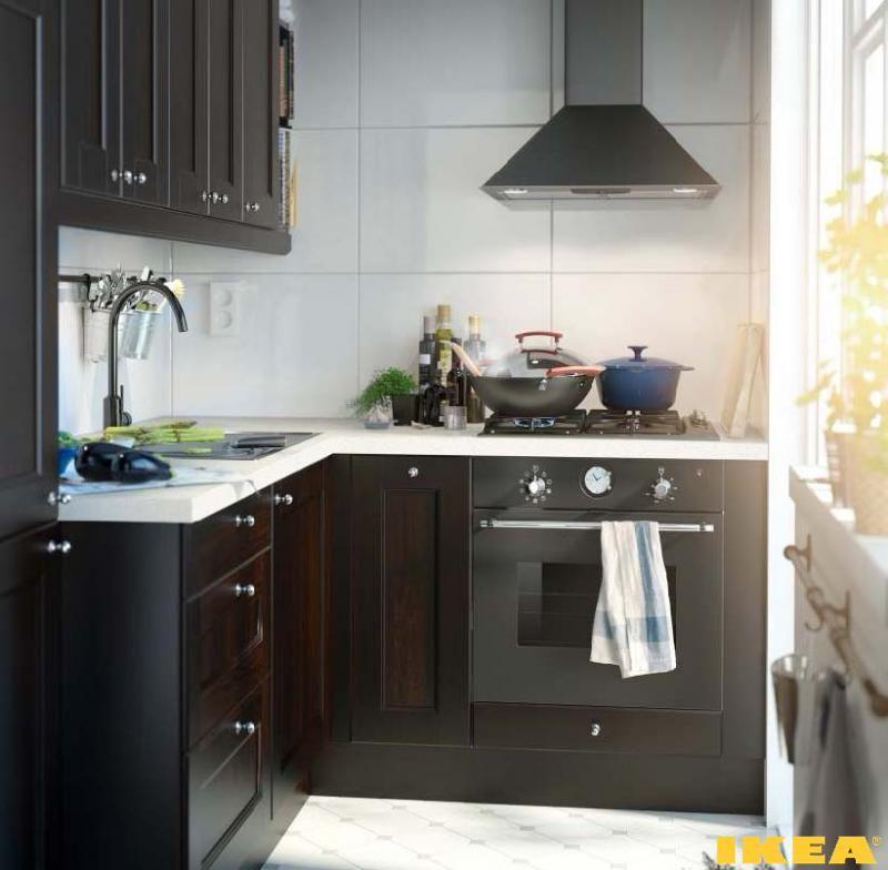 The Interior Of Very Small Kitchen Ikea Kitchens Interiors Unique Micro  Kitchen Design Ideas Inspiration