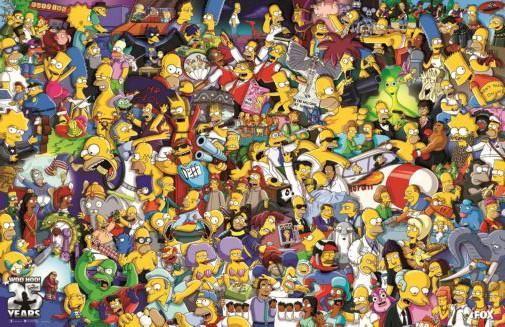 Simpsons the poster 24inx36in poster en 2019 simpson fondos de pantalla los simpson et los - Bande dessinee simpson ...