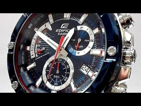 61fdcfb08631 Casio Edifice EFR-559TR-2A Red Bull Toro Rosso Limited edition watch vid.