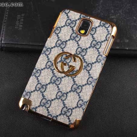 8c815fb71a9 Gucci Galaxy Note 3 Case Designer Leather Cover Blue  NoteCase-0127  -   23.80