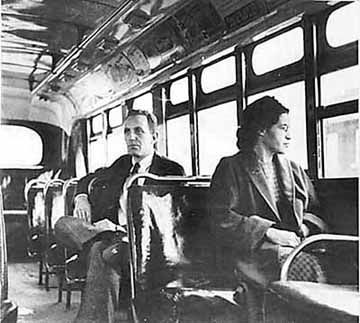 Rosa Parks Deserves To Sit After A Long Work Day