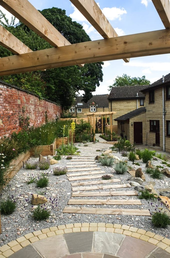 Modern garden with a rustic twist modern garden by ...