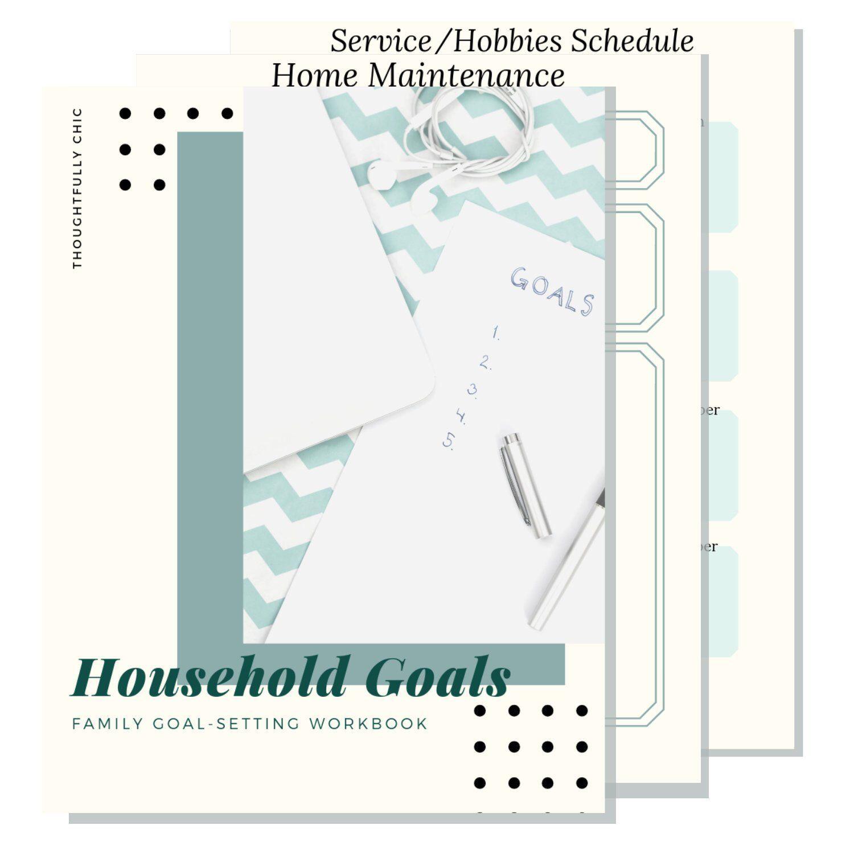 Family Goal Setting Workbook In