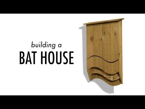 Building a Bat House from Cedar Fence Pickets