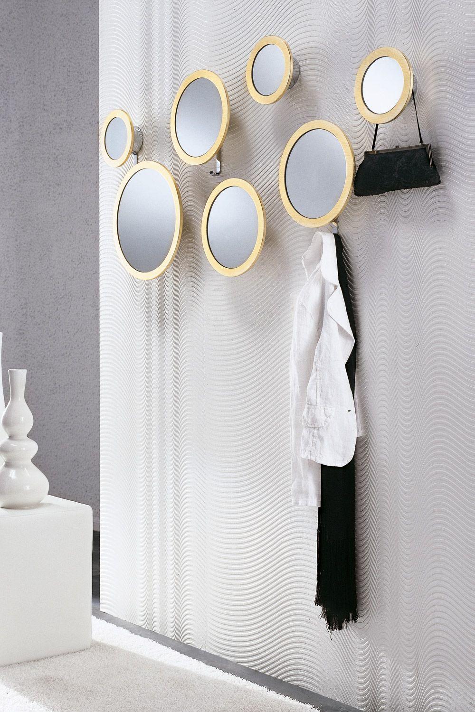 Stars dise o de colzani para porada espejos redondos con for Espejos para colgar