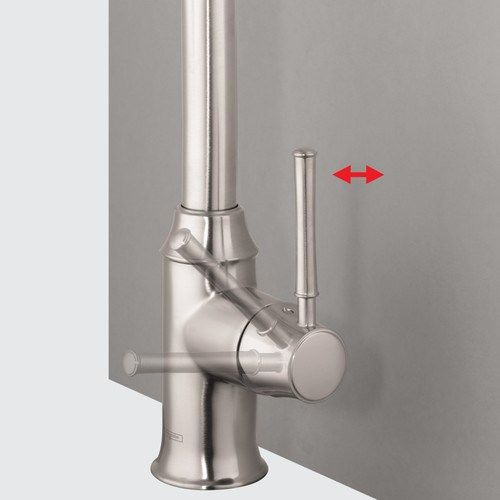 Images Hansgrohe Talis Spray Higharc Kitchen Faucet Pull