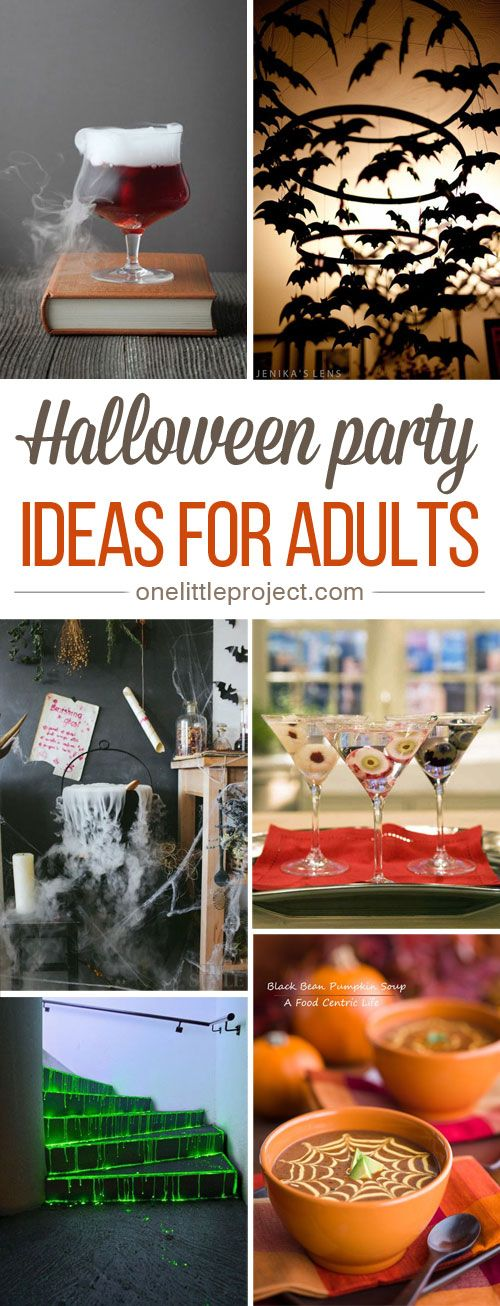 34 Inspiring Halloween Party Ideas for Adults Halloween parties - halloween party decorations for adults
