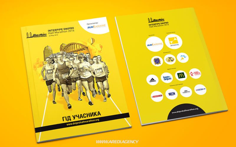 Marathon Running Magazine Sports Event Interpipe Dnipro Half
