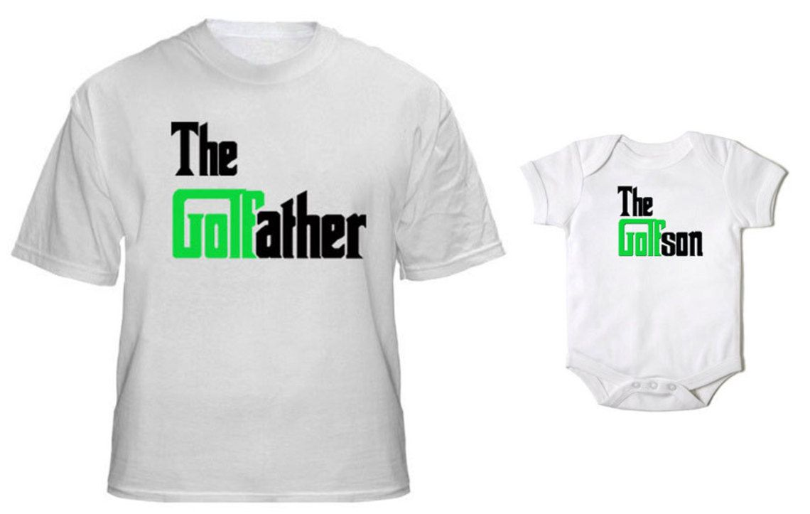 The Golf Father And Golf Son Tshirt And Matching Onesie Fathers Day