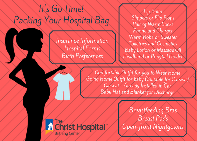What Should You Pack For The Hospital When It S Time To Have Your Baby We Went Straight To The Source To Find Out See What The Christ Ho Pregnancy Hospi