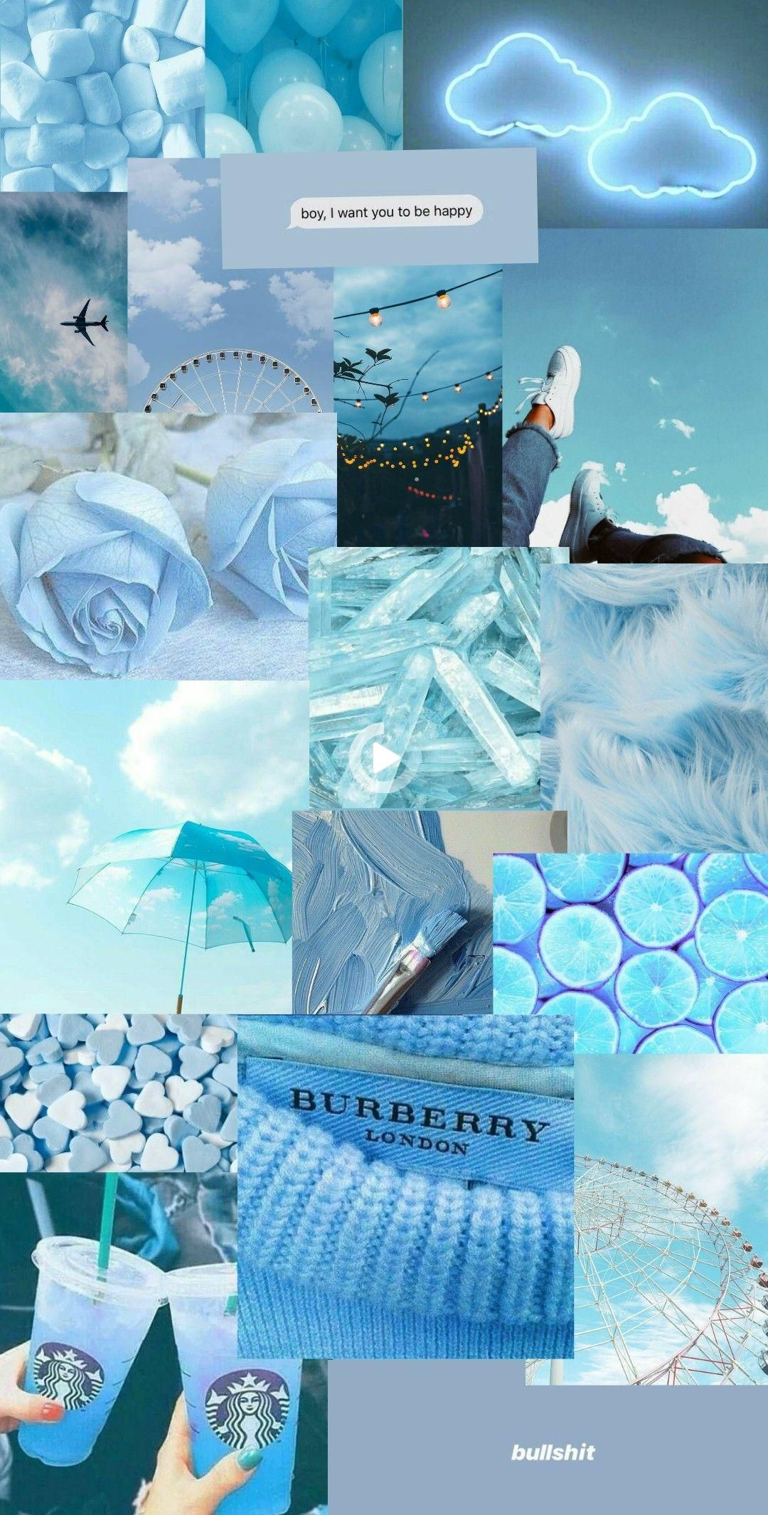 Blue Aesthetic Wallpaper In 2021 Blue Aesthetic Pastel Cute Blue Wallpaper Aesthetic Pastel Wallpaper