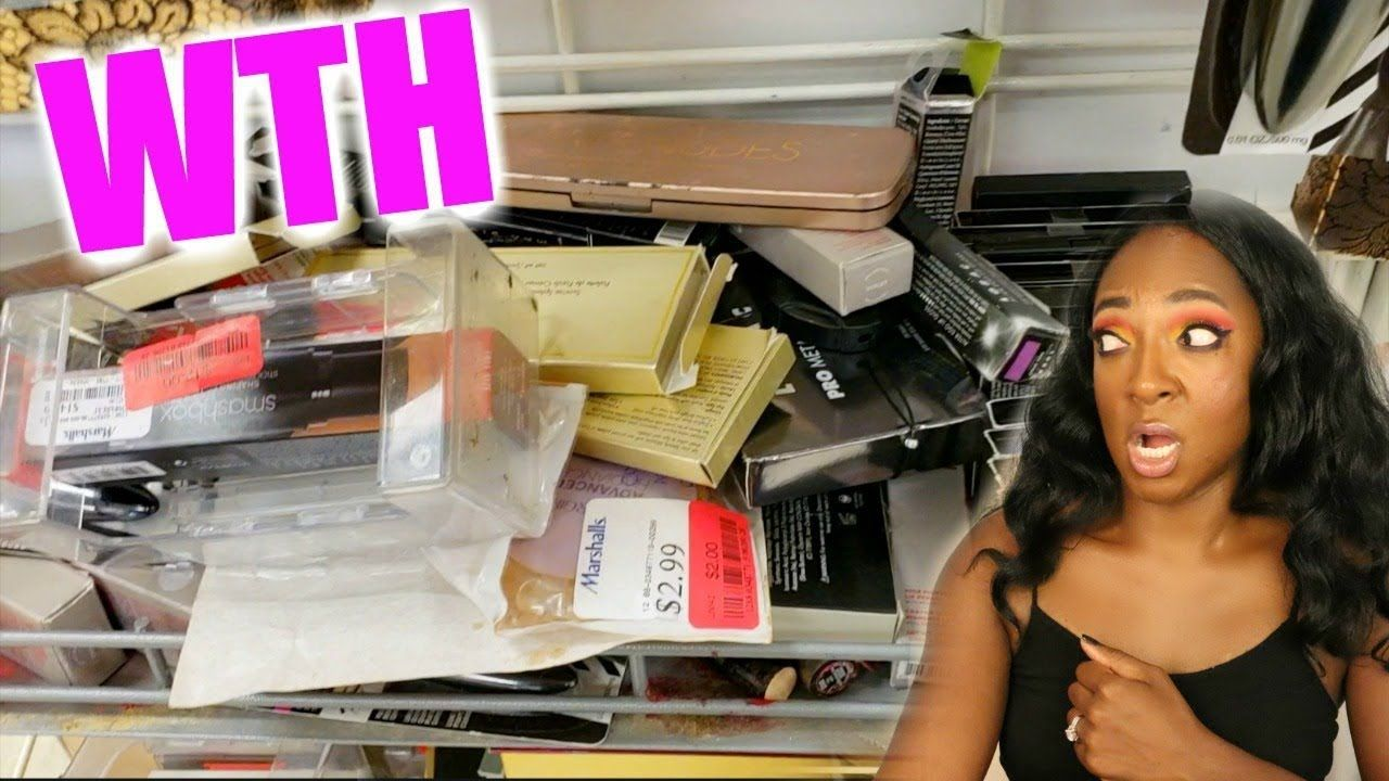 WTH HAPPENED TO THIS MARSHALLS? DISCOUNT MAKEUP SHOPPING