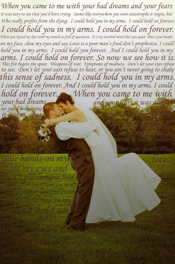 First Dance Lyrics On Photo Of Your Choice