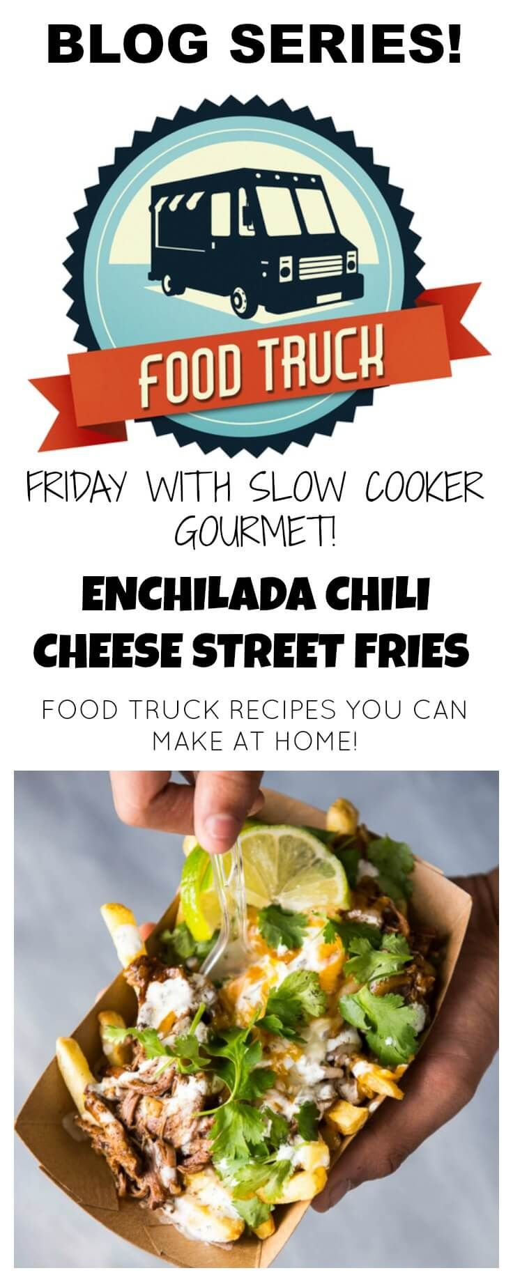 Slow cooker enchilada chili cheese street fries are a fun way to slow cooker enchilada chili cheese street fries are a fun way to bring food truck style forumfinder Choice Image