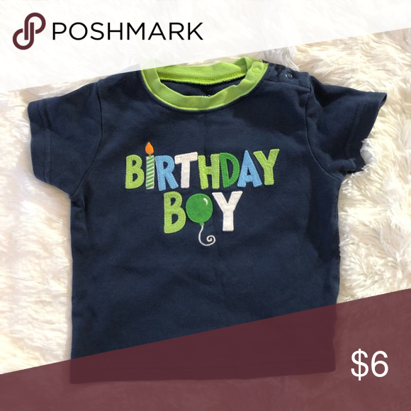 8a8e3438 12 Month Carters Birthday Boy Baby Short Sleeve Size 12 months. Birthday  Boy Short sleeve
