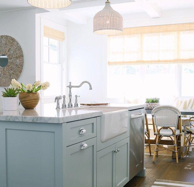 20 Ideas For Grey Kitchens Both: Light Blue Kitchens, Teal Kitchen, Blue