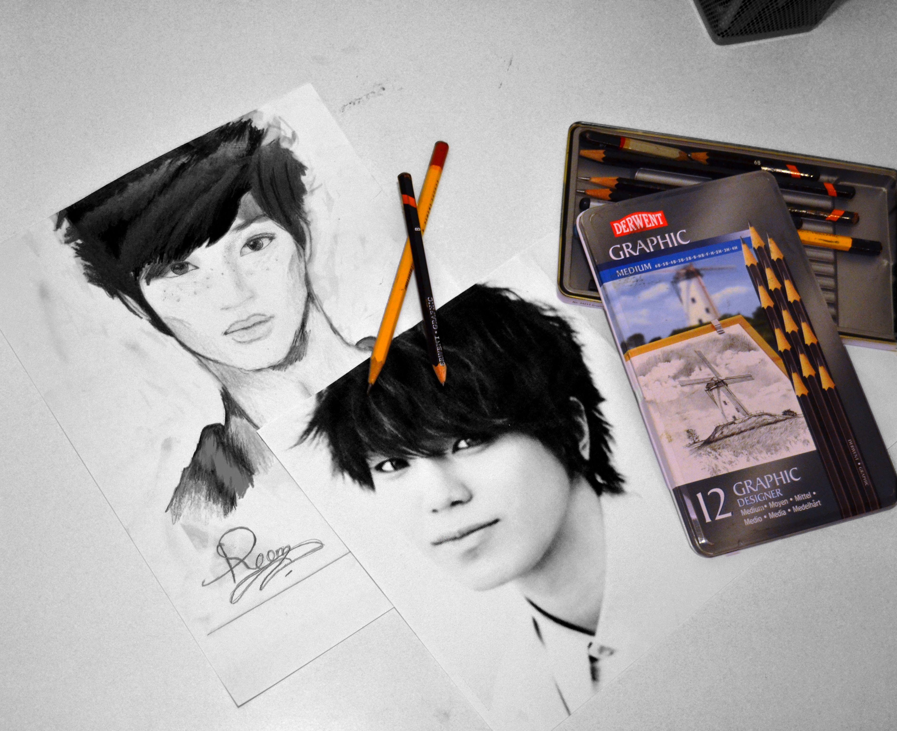 Drawing My Favorite Kpop Idols Great Artists Drawings Manga Story