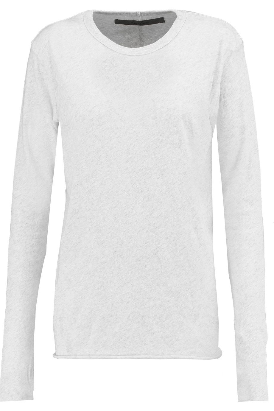 Enza Costa Woman Ribbed Cotton And Cashmere-blend Sweater Light Gray Size M Enza Costa Buy Cheap In China Sale Countdown Package IKIOe
