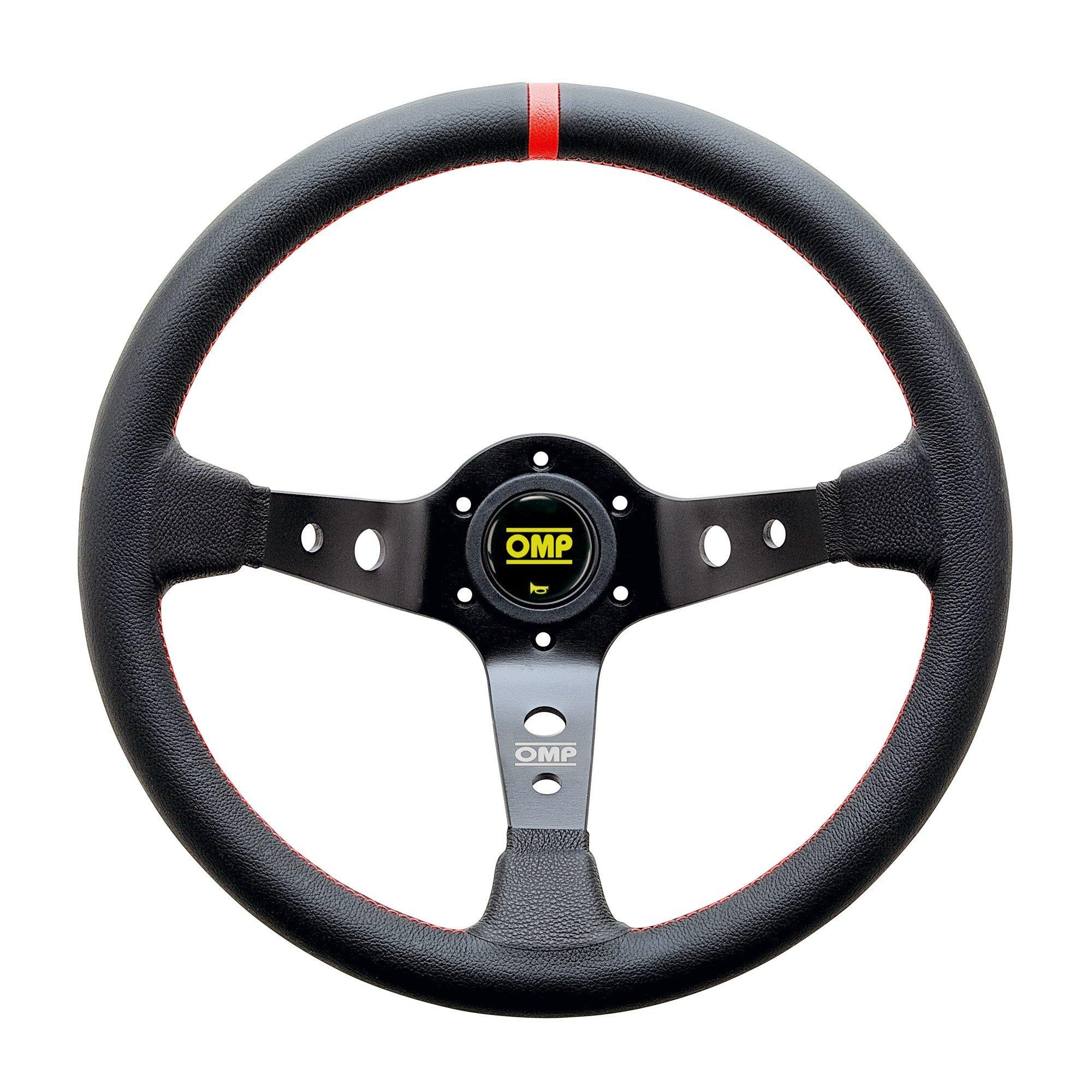 350mm  Diameter Suede Grip Sparco Competition R375 Steering Wheel Aluminum