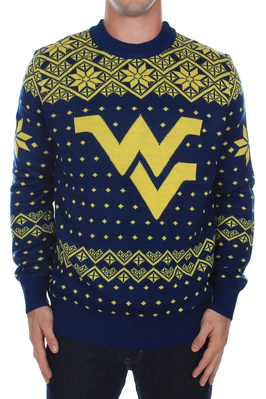 Men S West Virginia University Sweater 65 95 Http Www Tipsyelves Com West Virginia University Sweater Sweaters West Virginia University College Sweater
