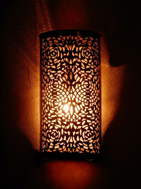 deco maroc appliques murales applique luminaire. Black Bedroom Furniture Sets. Home Design Ideas