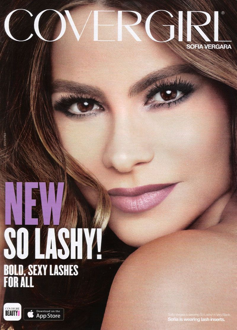 Sofia Vergara CoverGirl So Lashy Make up Pinterest