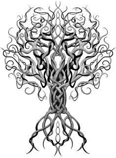 Yggdrasil Vikings Etc Tattoos Celtic Tattoos Tattoo Designs