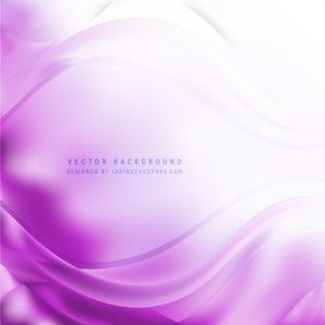 Abstract Light Purple Wave Background Waves Background Light