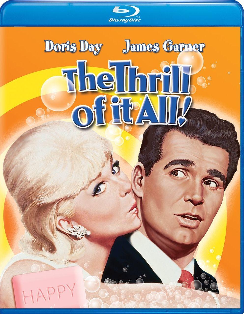 The Thrill Of It All Blu Ray Universal Studios Doris Day
