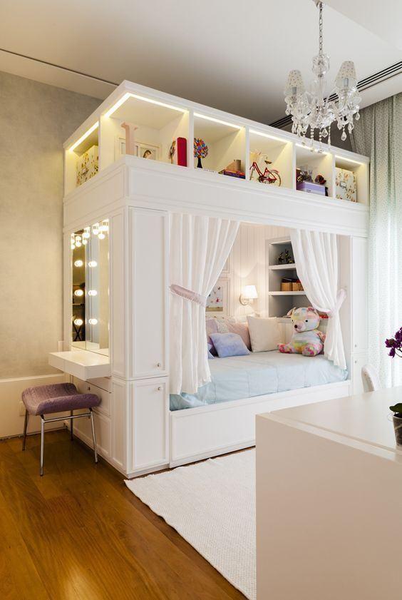 Mädchenzimmer: 75 Mädchenzimmer Ideen mit Fotos - https://pickndecor.com/haus #girlrooms
