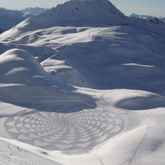 diseños en la nieve