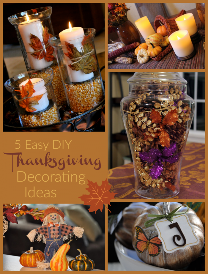 Easy Thanksgiving Decorating Ideas Pictures Gallery