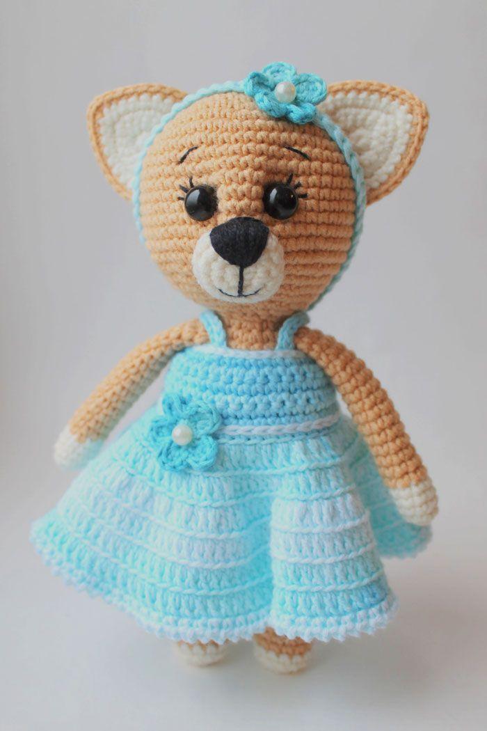 Amigurumi Cat Crochet Pattern : Lady cat free amigurumi pattern