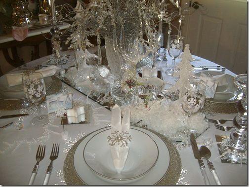 Woodland Winter Wonderland Christmas Wedding Tablescapes Christmas Table Settings Christmas Dining Table