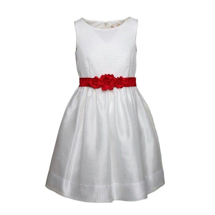 design innovativo migliore selezione di prezzo competitivo Raffinatissimo abito bianco con top a rete firmato Monnalisa ...