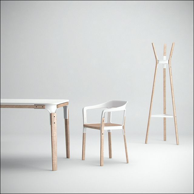 Bouroullec's steelwood / #white