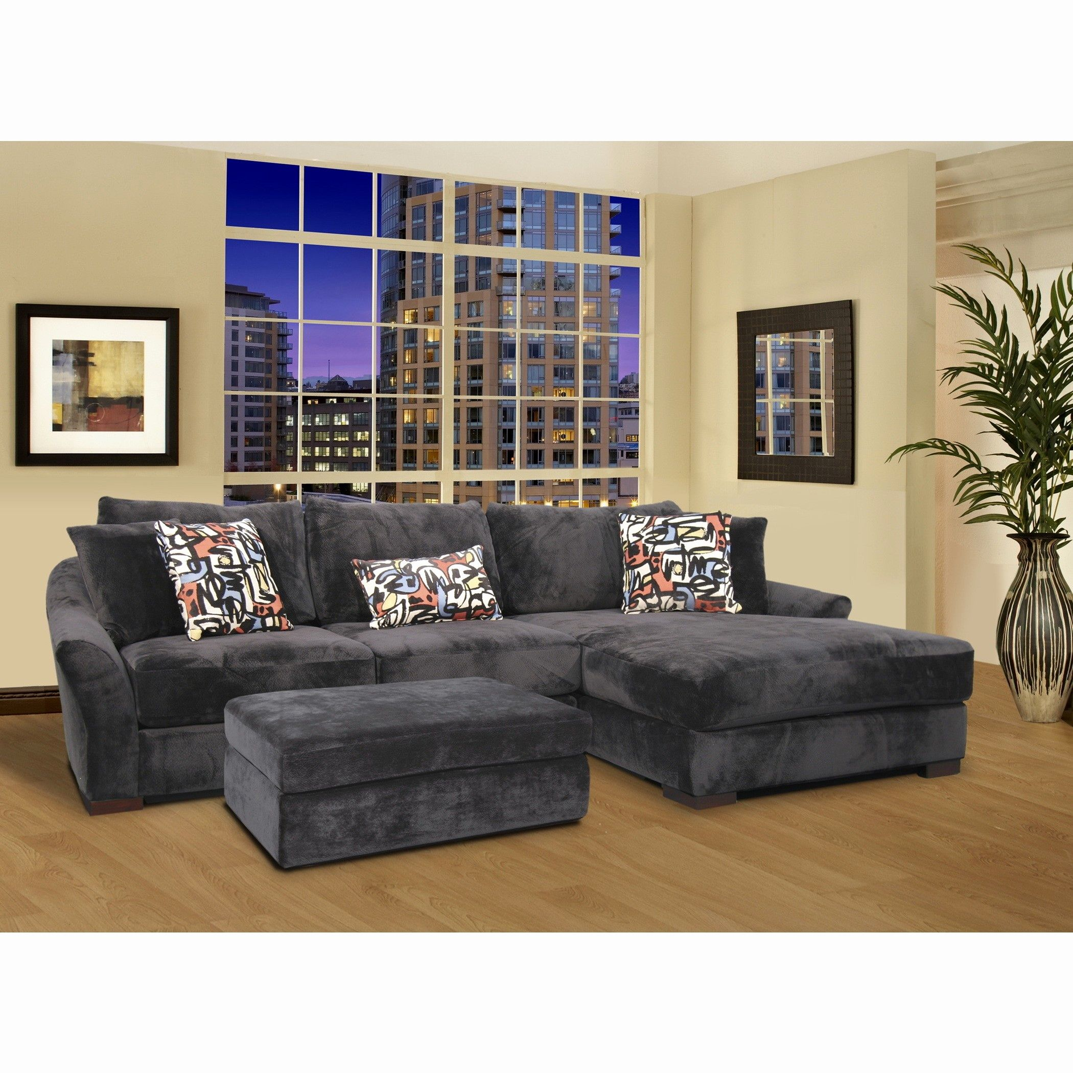 Ideas Velvet L Shaped Sofa Art Velvet L Shaped Sofa Elegant Grey