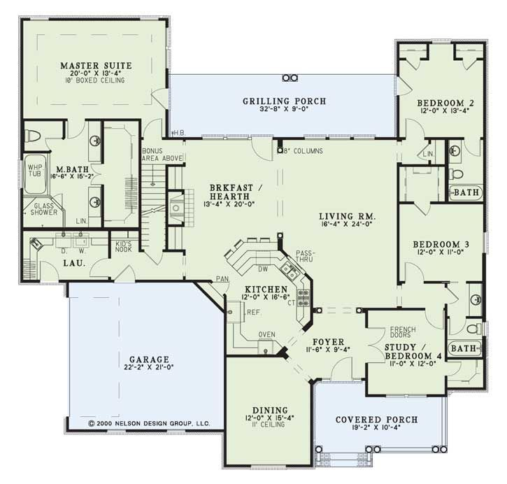 nelson design group | house plans|design services » willow lane