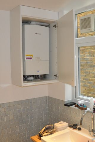 Image result for boiler cupboard ideas boiler cupboard for Kitchen boiler cupboard