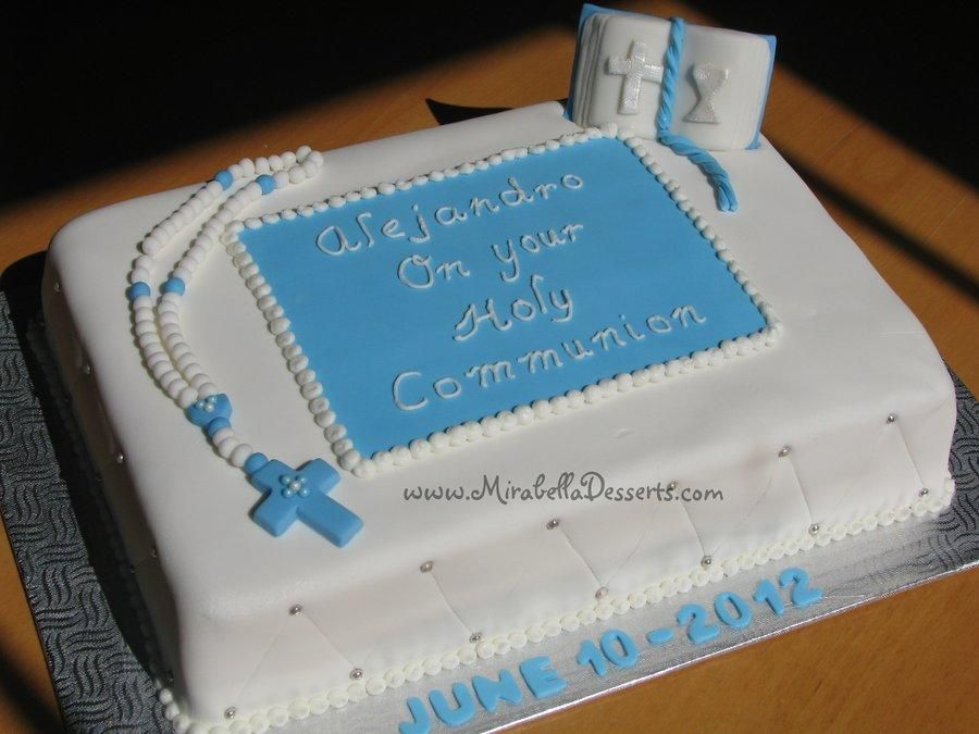 Model de gateau de communion