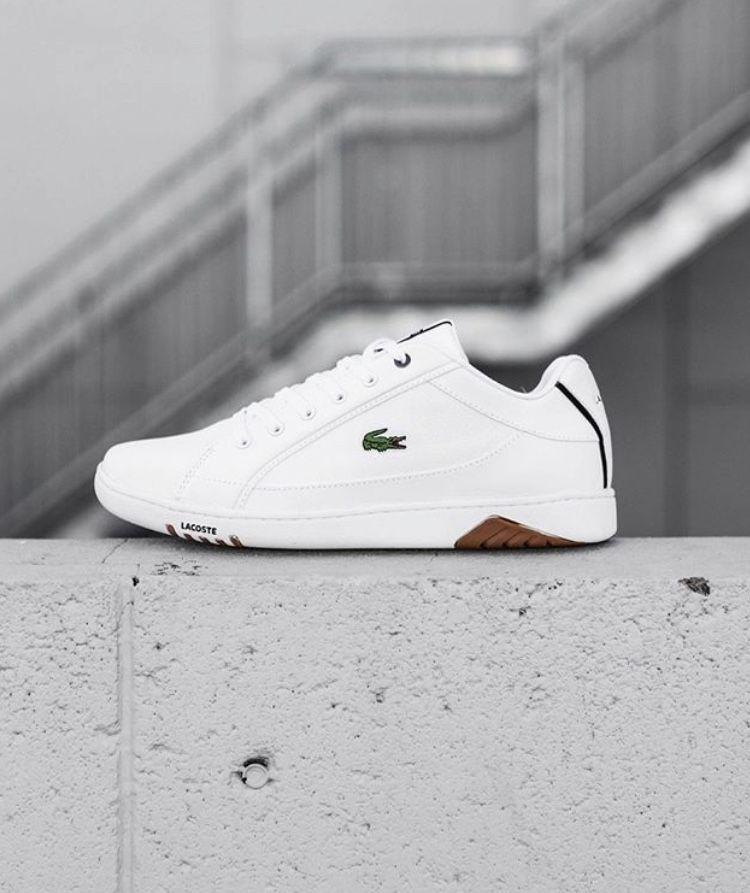 White sneakers men, Lacoste shoes mens