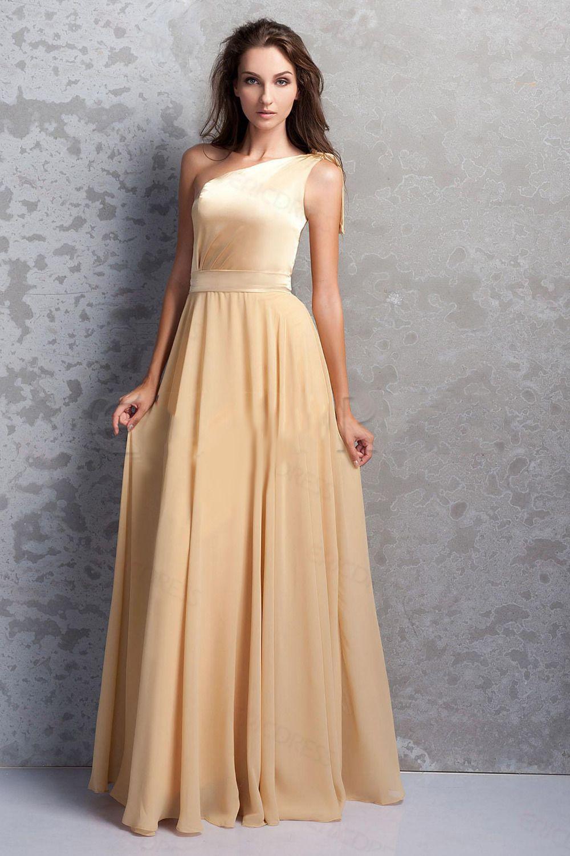 vestidos de 15 dorado de honor vestidos de color   Bodas YL ...