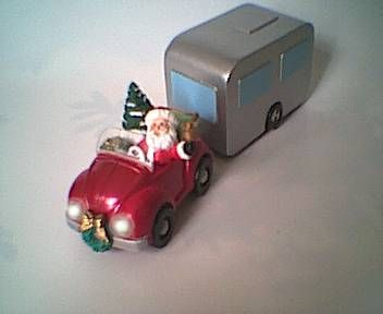 rv and trailer ornaments | What does Santa do the rest of the year?
