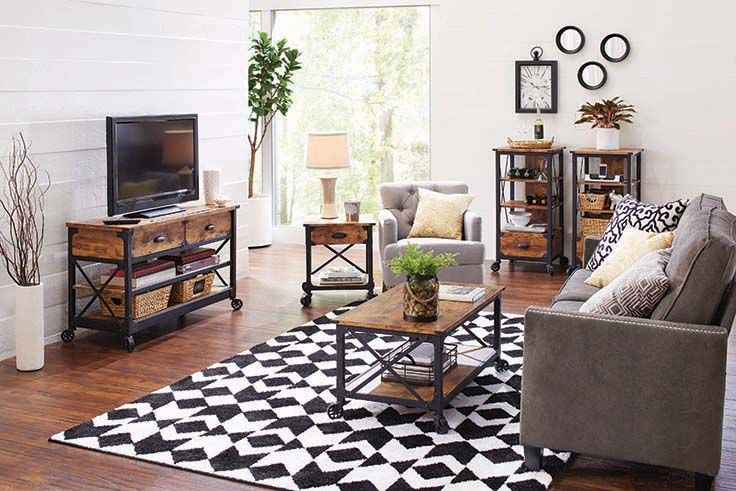 Better Homes And Gardens Rustic Country Living Room Set Country Living Room Home Living Room Sets