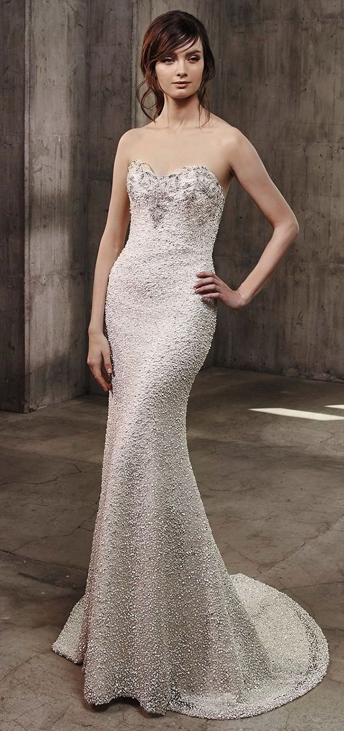 Badgley mischka wedding dress  Badgley Mischka  Wedding Dresses  Badgley mischka Romantic and