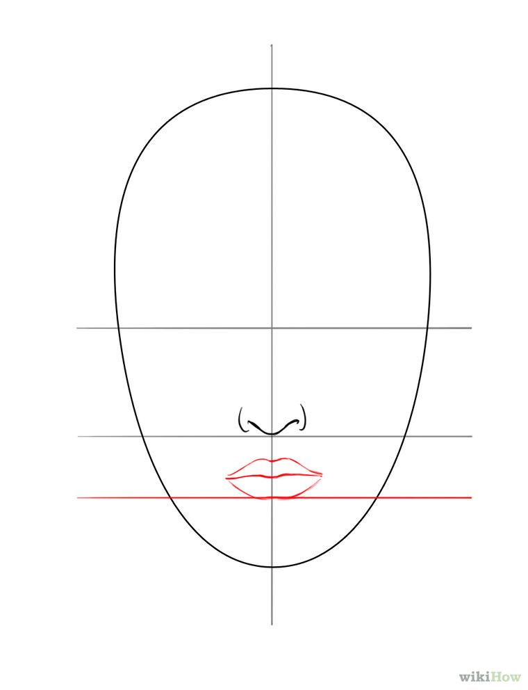 ein gesicht zeichnen wikihow malen pinterest gesichter zeichnen gesicht und zeichnen. Black Bedroom Furniture Sets. Home Design Ideas